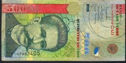 CAPE VERDE P69 500 ESCUDOS 2007 #GF     FINE FOLDS  NO P.h. ! - Cape Verde