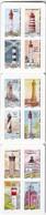 Carnet Neuf** TTB Non Plié De 12 Timbres Autoadhésifs Phares Série Repères De Nos Côtes, Lettre Prioritaire - Adhesive Stamps