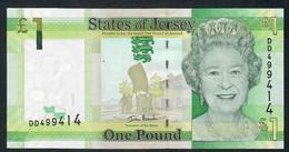 JERSEY P32a 1 POUND 2010  #DD    UNC. - Jersey
