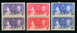 Mauritius MH 1937 Coronation Issue - Mauritius (...-1967)