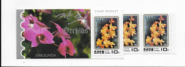 North Korea  Booklet Mnh  5 Orchids 1993 - Orchidee