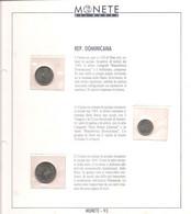 Rep. Dominicana - Monete Del Mondo - Uscita N°93 - 5-10-25 Centavos - Dominicana