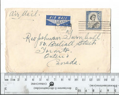 New Zealand Aukland To Toronto Canada June 25 1957.........(Box 8) - Covers & Documents