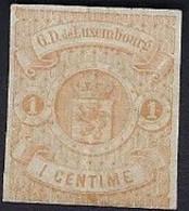 Luxembourg - Luxemburg - Timbre 1859  *   Michel 3  VC. 170,- - 1859-1880 Wapenschild