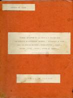 Jean Rapenne Gouverneur Du Niger.Journal De Marche 1939.Dosso.Birni-N'Konni.Maradi.Zinder.Goure.Tanout.Agadez.Tahoua. - Altri