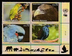 Nations Unies (Vienne) - N°740/3 ** (2011) Protection De La Nature : Oiseaux - Ungebraucht