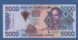 SIERRA LEONE - P.27c – 5.000 LEONES 2006 UNC Serie AR108251 - Sierra Leone