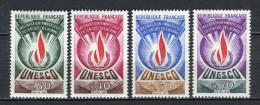 France 1969. Yvert S 39-42 ** MNH. - Mint/Hinged
