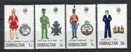Gibraltar 1972. Yvert 284-87 ** MNH. - Gibraltar