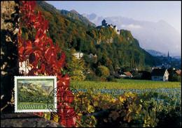 Liechtenstein - MK - Maler Aus Liechtenstein : Eugen Verling - Cartoline Maximum
