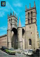 Automobiles - Petit Plan - Montpellier - Cathédrale St Pierre - CPM - Voir Scans Recto-Verso - Passenger Cars