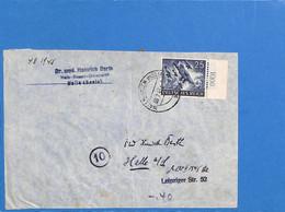 Allemagne Reich 1945 Lettre De Halle (G3167) - Lettres & Documents