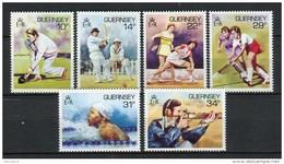 Guernsey 1986. Yvert 363-68 ** MNH. - Guernsey