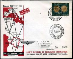 Belgisch Congo - Nationaal Comité Voor Luchtvaartpropaganda, Sabena 1935-1955 - 1947-60: Covers