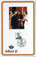 België - 2690, Koning Albert II - Cartas Commemorativas