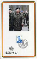 België - 2660, Koning Albert II - Cartas Commemorativas