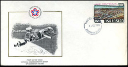 Ascension - FDC - 20th Anniversary Of Bahamas Long Range Proving Ground Agreement - Ascensión