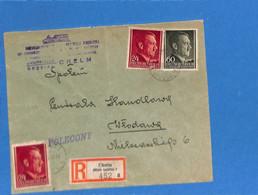Allemagne Reich 1944 Lettre De Cholm (G3185) - Briefe U. Dokumente