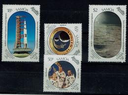 SAMOA 1989 SPACE MI No 685-8 MNH VF!! - Oceania