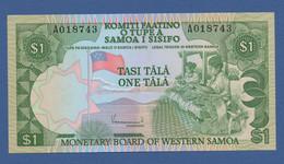 SAMOA - P.19 – 1 TALAND (1980) UNC Serie A018743 - Samoa
