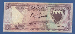 BAHRAIN - P.3 – 1/2 DINAR L.1964  Circolato - See Photo - Bahrain