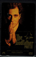 JAPAN 1993 PHONECARD CINEMA  THE GODFATHER PART III USED VF!! - Cinema