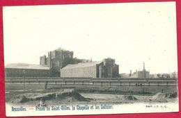 C.P. Saint-Gilles  =  La  Prison  Chapelle  Et Les Cellules - St-Gilles - St-Gillis