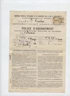 Saint Gaudens, Compagnie éclairage, électricité, Gaz, Bois, 4 Docs, Usine, Abonnement,  Nadau, Fiscal,1934 - Electricity & Gas