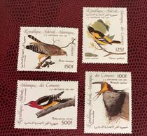 COMORES 1992 Audubon 4v Neuf MNH ** Mi 726 / 729  Ucello Oiseau Bird Pájaro Vogel KOMOREN COMOROS - Comores (1975-...)