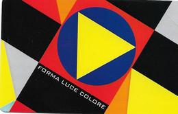 NUOVA-2547-TELECOM ITALIA-BAUHAUS- FORMA-LUCE COLORE - Openbaar Getekend