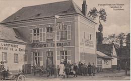 80 - FEUQUIERES EN VIMEU - CARREFOUR DE  L'APOTHEOSE - CAFE RESTAURANT DE LA REUNION - Autres Communes