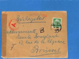 Allemagne Reich 1941 Lettre De Berlin à La Belgique, Avec Censure  (G3226) - Briefe U. Dokumente