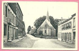 C.P. Saint-Hubert  = Rue  Saint-Gilles  Au Fond  Eglise  Saint-Gilles Du Xlè S. Et  Le Presbytère - Saint-Hubert