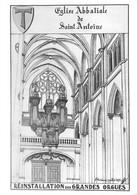 Saint St Antoine L'Abbaye Orgues Orgue Réinstallation - Altri Comuni