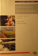 Spoorboekje Belgische Spoorwegen - Binnenlang - Indicateur - Chemins De Fer Belges - 1997-1998 - Treinen - Non Classés