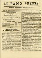 Période Jean Rapenne Gouverneur Guyane 1944.imprimerie Du Gouvernement.Cayenne.journal Le-Radio-Presse N° 85 - Altri