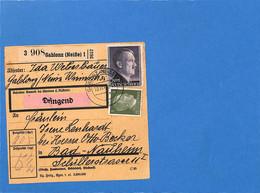 Allemagne Reich 1944 Carte Postale De Gablonz (G3268) - Lettres & Documents