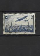 L1950 Timbre Perforé Poste Aérienne YT 12 Oblitéré - Perfin
