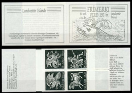 ISLAND MARKENHEFT Nr MH 2 Postfrisch S03777A - Booklets