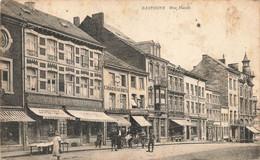 BASTOGNE - Rue Haute - Carte Animée Et Circulé En 1919 - Bastenaken