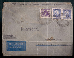 Brasil 1937 Enveloppe Circulé - Covers & Documents
