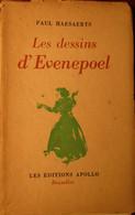 Les Dessins D'Evenepoel - Par Paul Haesaerts - 1943 - Antique