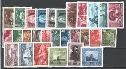 Liechtenstein 1941/54 28 Values */MH VF/F - Verzamelingen
