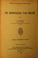 De Eendvogels Van België - Door R. Verheyen - 1943 - Eenden Vogels - Non Classés