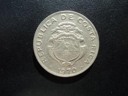 COSTA RICA * : 1 COLON    1970   Tranche B    KM 186.2        SUP ** - Costa Rica
