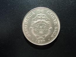 COSTA RICA * : 1 COLON    1977 (sm)   Tranche A    KM 186.4        NON CIRCULÉE ** - Costa Rica