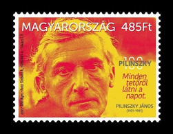 Hungary 2021 Mih. 6230 Poet János Pilinszky MNH ** - Nuovi