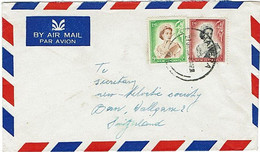 NZ - SWITZERLAND 1955 QEII COMMERCIAL COVER 1/9 RATE - Covers & Documents