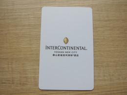 InterContinental Foshan New City, China - Chiavi Elettroniche Di Alberghi