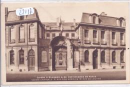 BANQUES- CAISSE D EPARGNE ET DE PREVOYANCE DE PARIS- CAISSE CENTRALE - Banks